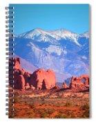 Beneath Blue Skies Spiral Notebook