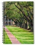 Beneath Live Oaks Spiral Notebook