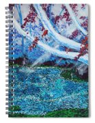 Beneath The Red Tree Spiral Notebook