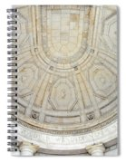 Beneath This Marble Ceiling Spiral Notebook