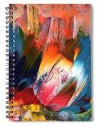 Benidorm En Fleur Spiral Notebook
