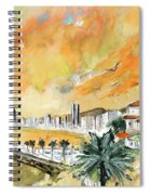 Benidorm Old Town Spiral Notebook