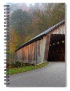 Bennett Mill Covered Bridge Spiral Notebook