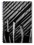 Benone - Shadow Fencing Spiral Notebook