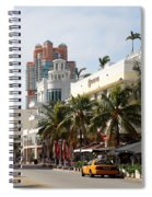Bentley Hotel Miami Spiral Notebook