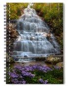 Benton Falls In Spring Spiral Notebook