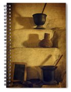 Bent's Old Fort Kitchen Fireplace Spiral Notebook
