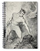 Beowulf Shears Off The Head Of Grendel Spiral Notebook
