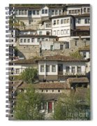 Berat Old Town In Albania Spiral Notebook