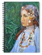 Berber Woman Spiral Notebook