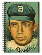 Bergen Brooklyn Dodgers Spiral Notebook