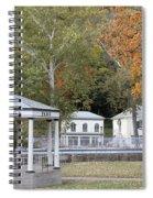 Berkeley Springs Bandstand In West Virginia Spiral Notebook