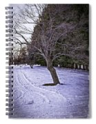 Berkshires Winter 2 - Massachusetts Spiral Notebook