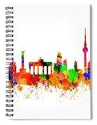 Berlin Brandenburg Gate - 2 Spiral Notebook