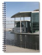 Berlin Government Building - Germany Spiral Notebook