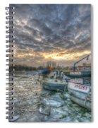 Berlin Ships Spiral Notebook