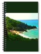 Bermuda Beach Spiral Notebook