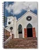 Bermuda Church Spiral Notebook
