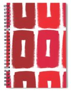 Berry Boxes- Contemporary Abstract Art Spiral Notebook