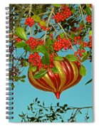 Berry Christmas Spiral Notebook