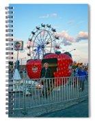 Berry Go Round Spiral Notebook