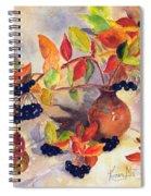 Berry Harvest Still Life Spiral Notebook