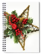 Berry Star Spiral Notebook