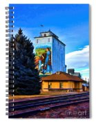 Berthoud Station Spiral Notebook