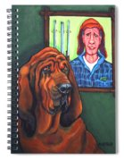 Bloodhound - Bervil And Blue Spiral Notebook