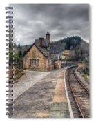 Berwyn Railway Station Spiral Notebook