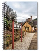 Berwyn Station Spiral Notebook