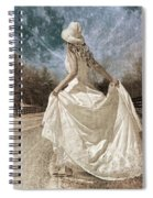 Beside Myself The Moon Spiral Notebook