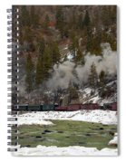 Beside The Animas River Spiral Notebook