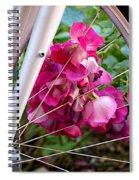 Bespoke Flower Arrangement Spiral Notebook