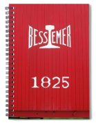 Bessemer Train Spiral Notebook