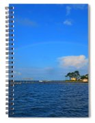 Best Complete Rainbow Over Santa Rosa Sound3 Spiral Notebook