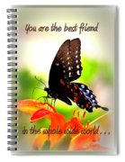 Best Friend Spiral Notebook