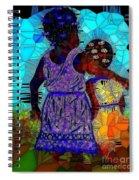Best Friends Mosaic Spiral Notebook