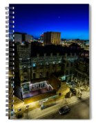 Best Place Blue Hour Spiral Notebook