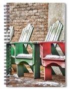 Best Seats In Town Spiral Notebook