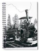 Best Steam Traction Engine Spiral Notebook