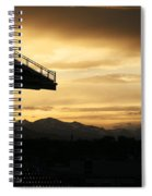 Best View Of All - Rockies Stadium Spiral Notebook