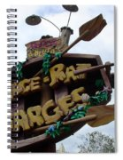 Best Water Ride In Florida Spiral Notebook