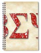 Beta Sigma Psi - Parchment Spiral Notebook