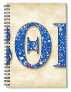Beta Theta Pi - Parchment Spiral Notebook
