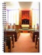 Beth El Jacob Temple In Des Moines Spiral Notebook