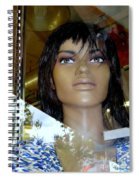 Bethany In Bangs Spiral Notebook