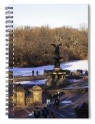 Bethesda Fountain 2013 - Central Park - Nyc Spiral Notebook