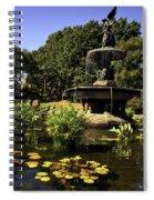 Bethesda Fountain - Central Park 2 Spiral Notebook