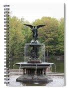 Bethesda Fountain Central Park Nyc Spiral Notebook
